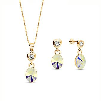Jewelry Set Ovalan Gold