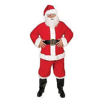 Костюм Санта, бюджет 5 кусок отец Рождества костюм