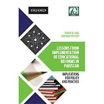 Lessons from Implementation of Educational Reforms in Pakistan - Impli
