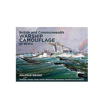 Brittiska och samväldet örlogsfartyg kamouflage för WW II - jagare - Fr
