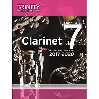 Clarinet Exam Pieces Grade 7 2017-2020 (Score & Part)