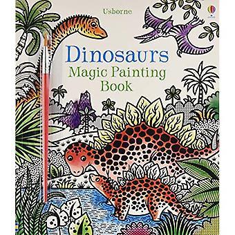 Dinosaurs Magic Painting Book - Magic Painting
