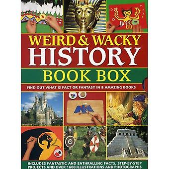 Weird & Wacky History: Book Box: Find Out What is Fact or Fantasy in 8 Amazing Books