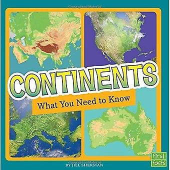 Continents: What You Need to Know (Fact Files)