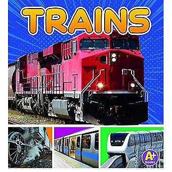 Trains (Transportation in My Community)