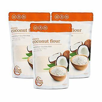 Farina di cocco organico - confezione da 12 - 400g ciascuna - l'azienda di cocco