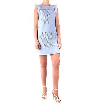 Michael Kors Light Blue Cotton Dress