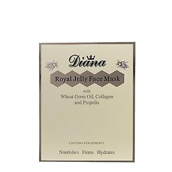 Diana Royal Jelly and Collagen Face Mask (4 Treatments)