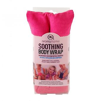 Aroma Home Fine Cord Soothing Lavender Wheat Bag: Fuschia