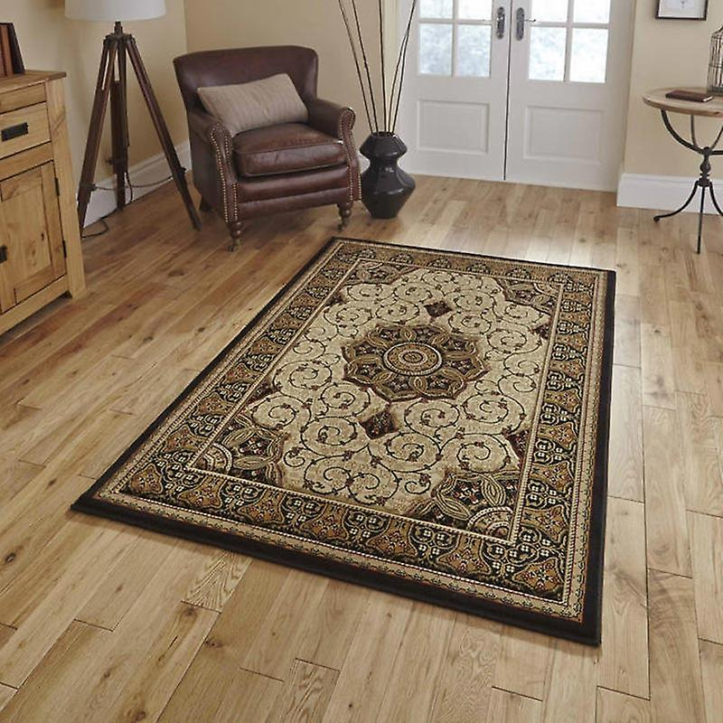 Rugs - Heritage - Black Cream 4400