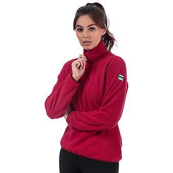 Frauen Helly Hansen Federpfelder 3/4 Zip Fleece In Persisch rot