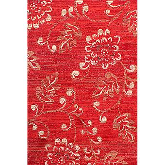 Verso Rugs In Red By Rugstyle