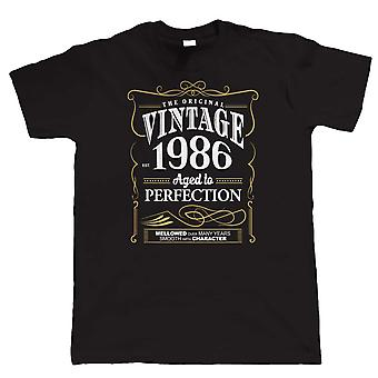 Vintage 1986 alderen til perfeksjon, Mens T-skjorte