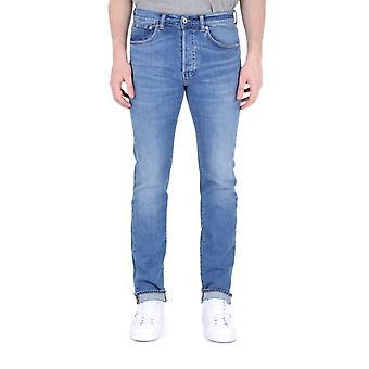 Edwin ED-80 Power Blue Denim Pacific Wash Slim Fit Jeans