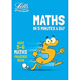 Letts Maths in 5 Minutes a Day - Letts Maths in 5� Minutes a Day Age 5-6 (Letts Maths in 5 Minutes a Day)