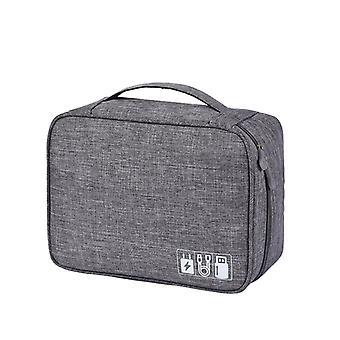 Electronics Bag, Grey