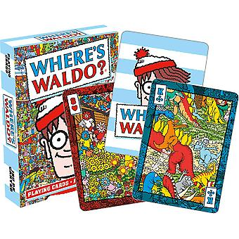 Spielkarte - Where's Waldo - Poker New 52573