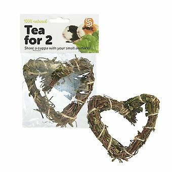 Sharples Tea Time Heart Natural Chew Toy
