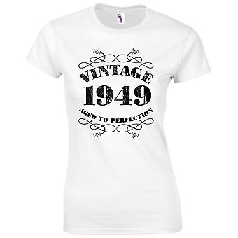 70th Birthday Gifts for Women Her Vintage 1949 T-Shirt