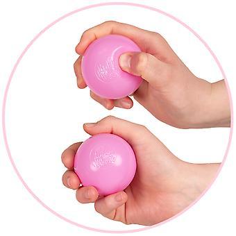 Kiddymoon Soft Plastic Play Balls á 6cm / 2.36 Multi Color Certificado Hecho en la UE