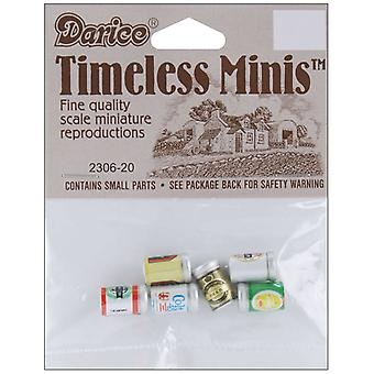 Timeless Miniatures Assorted Beer Cans 6 Pkg 2306 20