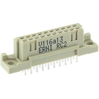 Edge connector (receptacle) 254370 Total number of pins 20 No. of rows 2