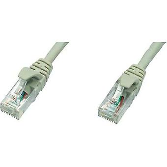 RJ49 Networks Cable CAT 5e U/UTP 2 m Grey Flame-retardant Telegärtner