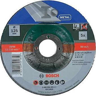 Bosch 2609256333 5-piece cutting disc set with depressed centre for metal