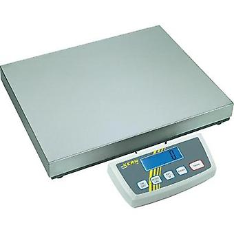 Platform scales Kern Weight range 35 kg Readability 5 g, 10 g