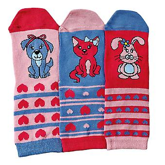 Pets - Set of 3 Toddlers Socks by United Oddsocks
