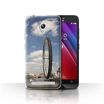 STUFF4 Case/Cover for Asus Zenfone Go ZC500TG/London Eye/Imagine It