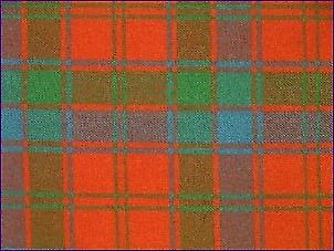 Robertson Red, Ancient - Pure Wool Tartan