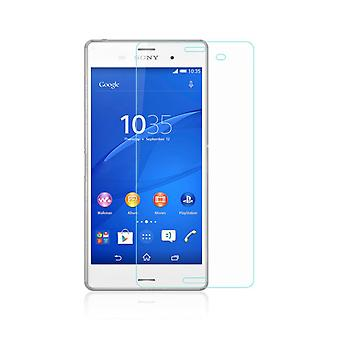 Sony Xperia Z3 display protector 9 H laminated thin 0.3 mm armoured glass