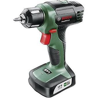 Bosch Home and Garden EasyDrill 12 Cordless drill 12 V 1.5 Ah Li-ion incl. rechargeables