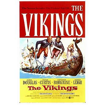 The Vikings Movie Poster Print (27 x 40)