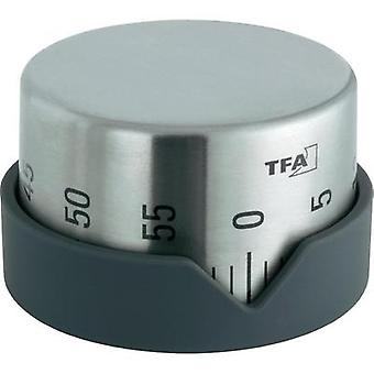 Timer TFA 38.1027.10 Dot Stainless steel