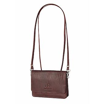 Dr Amsterdam Schultertasche Icon Brown