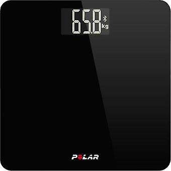 Digital bathroom scales Polar Balance Weight range=180 kg Black
