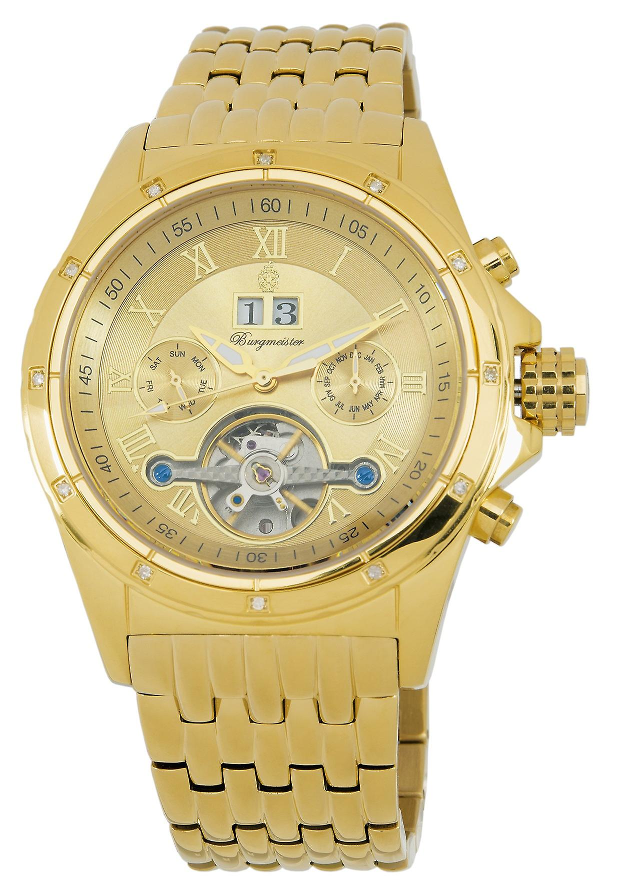 Burgmeister Gents Automatic Watch Royal Diamond BM127-279