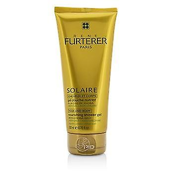 Solaire Nourishing Shower Gel with Jojoba Wax (Hair and Body) - 200ml/6.76oz