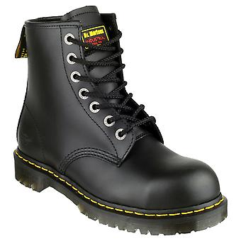 Dr Martens FS64 Unisex Safety Boots Textile Leather PVC Lace Up Fastening Shoes