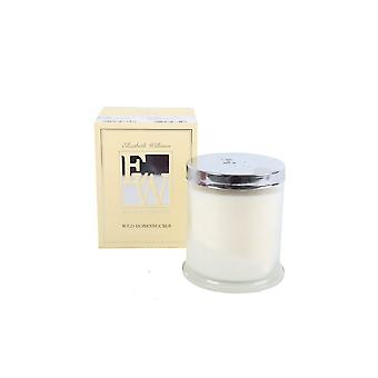 9X10 WAX FILLED CANDLE IN GLASS POT WILD HONEYSUCKLE FRAGRANCE