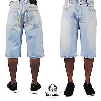 Viazoni jeans shorts ice blue