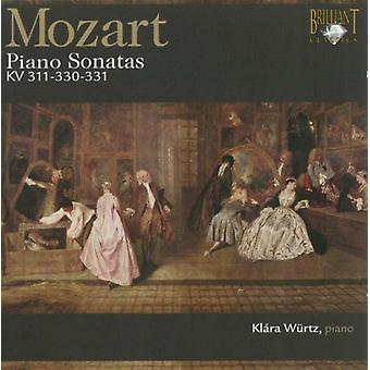 W.a. Mozart - Mozart: Sonaty na fortepian, K. 311, 330 & 331 [CD] USA import