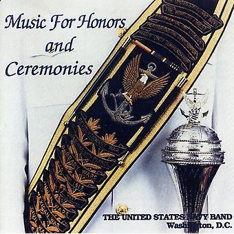 U.S. Navy Band - musik for Honors og ceremonier [CD] USA importerer