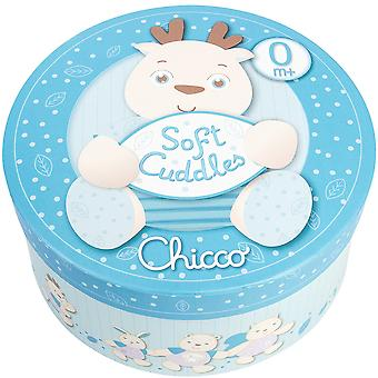 Chicco Soft Cuddles Teddy Reno Great 25Cm. blue