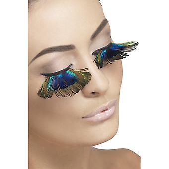 Påfugl øjenvipper