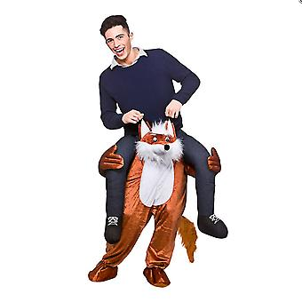 Adults Fancy Dress One Size Carry Me Fantastic Fox Costume