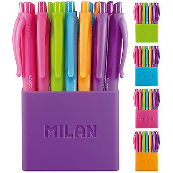 Milan Bote 24 Bolígrafo Touch Colours (Toys , School Zone , Drawing And Color)