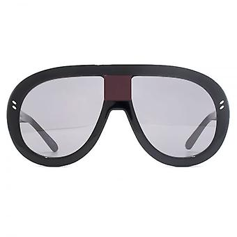 Stella McCartney Iconic Extreme Pilot Sunglasses In Black